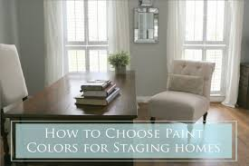 how to choose paint colorsHow To Choose Paint Colors for Staging Homes  The Decorologist