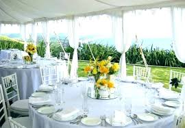 Round Table Settings For Weddings Round Table Wedding Decor Centerpieces Best Ideas On