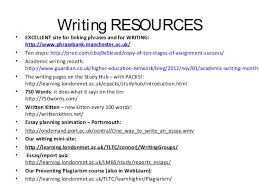 becoming w academic writing starts academic writing workshop  22 • • • • • • • • • • • • • writing resources excellent site for linking phrases