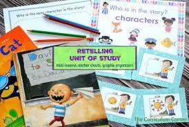 Kinder Anchor Charts Retelling Unit Of Study The Kinder Corner