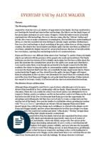 compare contrast essay short stories quilt everyday use by alice walker
