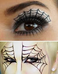 diy spiderweb makeup tutorials for diy spiderweb makeup you can go the easy yet