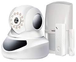 Комплект WiFi/LAN охранной сигнализации / IP камеры <b>GINZZU</b> ...