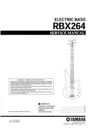 yamaha service manual archives page 24 of 40 pligg yamaha rbx264 rbx 264 rbx 264 complete service manual