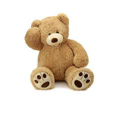 Big Light Brown Teddy Bear Morismos Giant Teddy Bear With Big Footprints Plush Stuffed