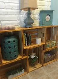 wood crate furniture diy. wooden crate shelf shelves display storage bookshelf apple wood crates stacking furniture diy