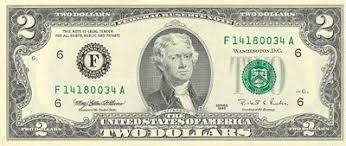 United States Currency 2 Bill Wikiversity