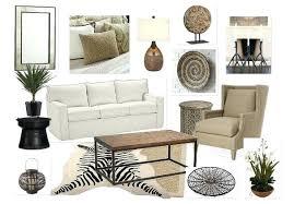 african safari decor neutral living room decor safari chic