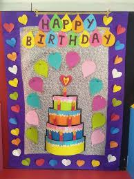 Birthday Chart For Preschool Board Classroom Display