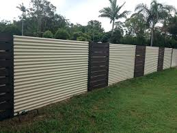 sheet metal fence. Perfect Fence Metal Privacy Fence Corrugated  Inside Fencing Plan   Intended Sheet Metal Fence