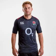 canterbury england 2018 19 alternate pro s s rugby shirt
