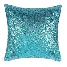 teal accent pillows. Modren Pillows PONY DANCE Glitter Sequins Party Pillow Cases Home Decor For Xmas Throw  Cover Comfy Satin Solid Sofa Pillowcase Including Invisible Zipper Design18 On Teal Accent Pillows A