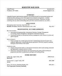 40 Modern Business Resume Templates PDF DOC Free Premium Best Business Resumes