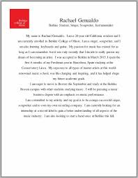 Berklee Cover Letter Examples Completely Free Cover Letter Builder