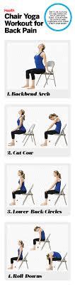 chair yoga back pain 2