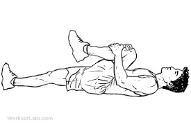 Knee To Chest Lower Back Stretch Workoutlabs Exercise Guide