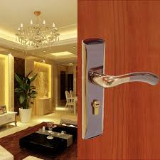 high quality door lock bedroom door interior room door solid wood gate locks door handle
