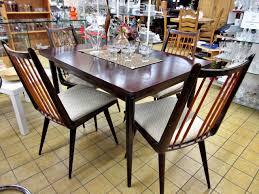 Essgruppe Tisch Stühle Retro Original 50er 60er Jahre Trödel Oase