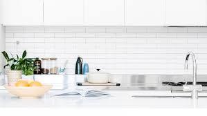 Splashback White Kitchen Best White Kitchens