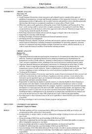 Credit Analyst Resume Example Credit Analyst Resume Samples Velvet Jobs