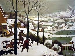hunters in the snow oil painting wall oilpainting online  hunters in the snow oil painting
