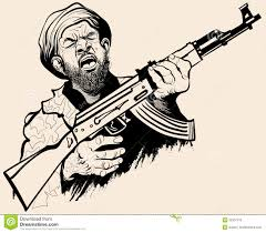 Image result for terrorist cartoon
