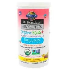 garden of life dr formulated probiotics organic kids plus