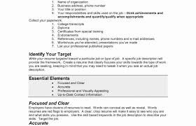 Most Recent Resume Style Common Format Skills List Templates