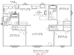 floor plan of a one story house. Garage:Gorgeous Small Ranch Home Plans 34 One Story House 28171 Gorgeous . Floor Plan Of A
