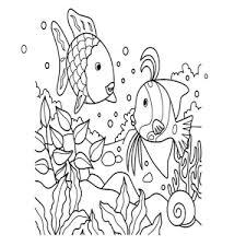 Leuk Voor Kids De Mooiste Vis Van De Zee Kleurplaten