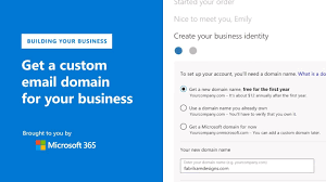 Get A Custom Email Domain For Your Business With Microsoft Office 365