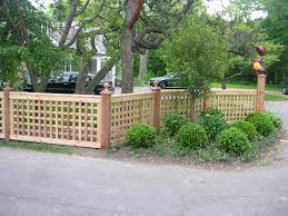 Patio Privacy Fence Painting Of Select Lattice Fence Designs Based On Your Style