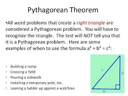 Theorem Worksheet With Answers Graphics Pythagorean Application ...