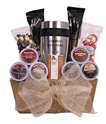 If you need an idea on what a coffee lover wants as a gift, these diy gift ideas are perfect for you! Common Grounds K Cup Coffee Lover S Gift Basket Coffee Gifts Mom Says It S Cool Unique Gift Ideas More
