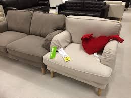 ikea stocksund armchair and 2 seater sofa