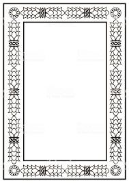 Image Simple Frame Border Design Template Black And White Decorative Vector Border Illustration Istock Frame Border Design Template Black And White Decorative Vector
