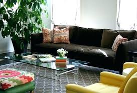 chocolate brown sofa couches living room couch grey rug dark with gray walls chocolate brown sofa