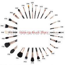 makeup artist kit checklist fortheloveofmakeupbaby date or editon de 29 pcs extravaganza collection kit plet pinceau