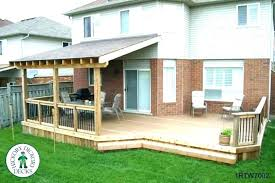 Awning Over Deck Build Building A Wood Back Ideas