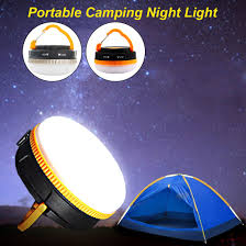 Hiking Tent Led Light Campsite Hanging Lamp Emergency With Handle