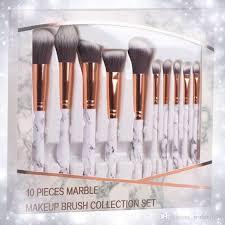 new marble makeup brushes sets blush powder eyebrow eyeliner makeup brush set foundation free dhl 210 marble makeup brushes marble makeup brushes sets