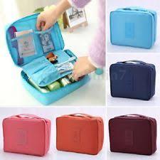 uk wash bag toiletry cosmetic travel make up hanging folding case organizer