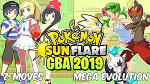 Download) Pokemon Sun Flare GBA Hack 2019 - Z Moves,Mega Evolution,Ash  Greninja,New Graphics & More - YouTube