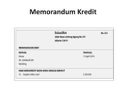 memo kredit bab 6 akuntansi untuk perusahaan dagang ppt download