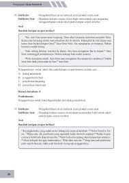 Paragraf di atas bertujuan untuk a. Un Bahasa Indonesia Smp 2015