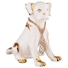 <b>Статуэтка собака с</b> галстуком, высота 24см.