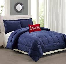 woven trends bedding 4 piece solid embossed comforter set babylon navy blue comforters bedding free at powererusa com