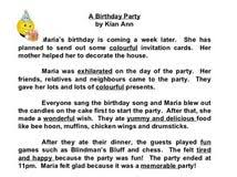 narrative essay my birthday party dear committee members narrative essay my birthday party