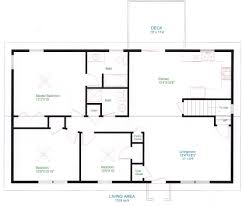 Simple One Floor House Plans  Ranch Home Plans  House Plans And Blueprints For A House
