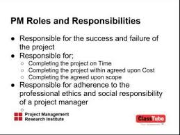 Project Manager Duties Software Project Manager Job Description Sample